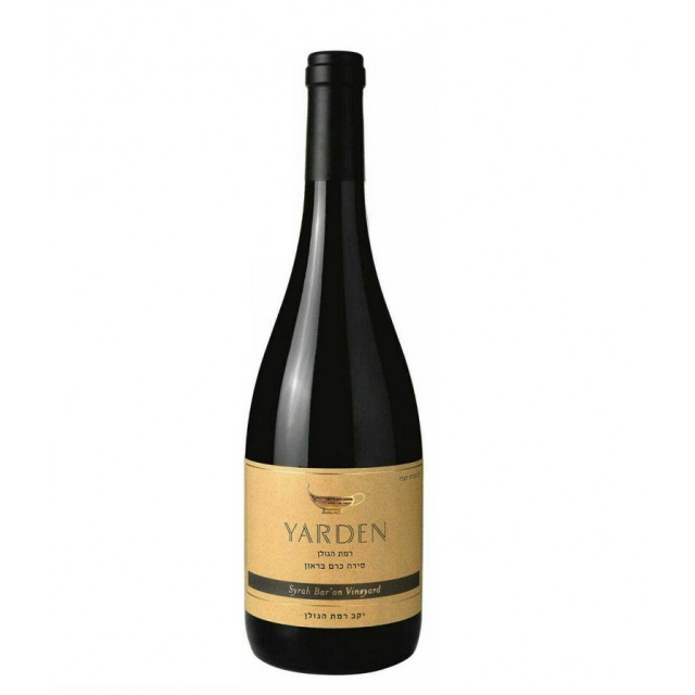 Syrah Bar'on Vineyard Organic Yarden 2016